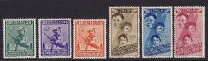 Italy Scott # C89 - C94 Set mint VF previously hinged cv $ 96 ! see pic !