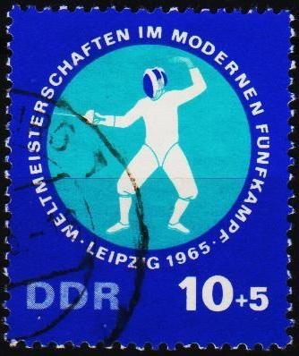 Germany(DDR). 1965 10pf+5pf  S.G.E855 Fine Used