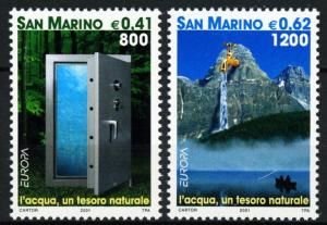 San Marino #1501-1502 Europa - MNH