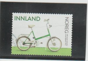 Norway  Scott#  1880  Used  (2019 DBS Kombi Butterfly Bicycle)