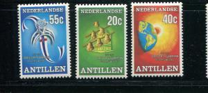 Netherlands Antilles #397-9 MNH - Make Me A Reasonable Offer
