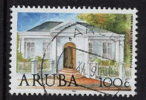 Aruba   #181  used  1999   library 100c