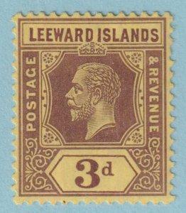 LEEWARD ISLANDS 51 MINT HINGED OG *  NO FAULTS EXTRA FINE