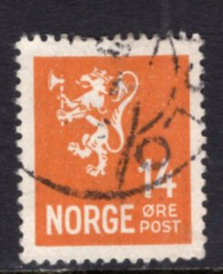 Norway 116 Used VF