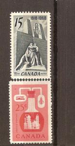 CANADA #363,#486 MNH STAMPS  LOT#523