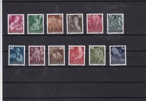 liechtenstein 1951 agricultural scenes mnh   stamps cat £300+ ref 7518
