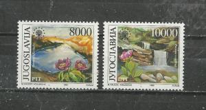 Yugoslavia #1985-1986 Mint NH