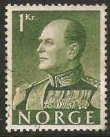 Norway Used Sc 370 - King Olav V