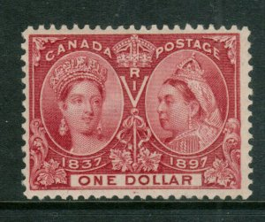 Canada #61 Mint Fine Original Gum Hinged - Small Thin