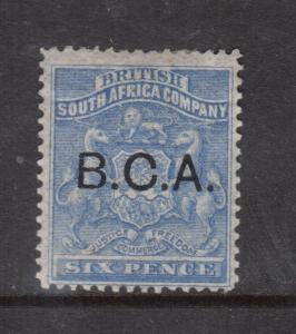 British Central Africa #4 Mint Fine Original Gum Hinged