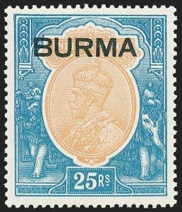 MOMEN: BURMA SG #18 1937 MINT OG VLH LOT #60278