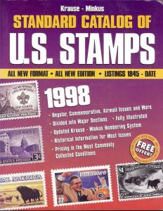 1998 Krause-Minkus Standard Catalog of U.S. Stamps,