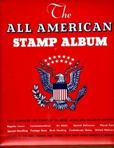 Minkus #3 - All American 2 Post Album w/ majority of Minkus Pages Used 1984-1998