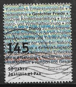 Germany used  - 2017    Justitia et pax
