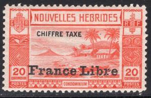 NEW HEBRIDES-FRENCH SCOTT J13