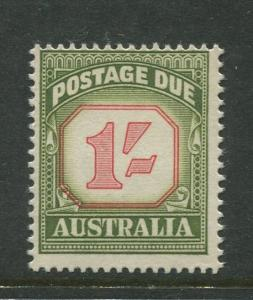 Australia - Scott J94 - Postage Due Issue -1958- No Wmk - MNH -Single 1/- stamp