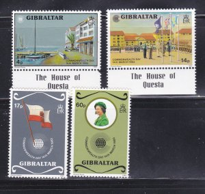 Gibraltar 443-446 Set MNH Commonwealth Day (A)