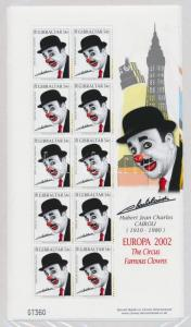 Gibraltar stamp Europe: Circus- clowns mini sheets MNH 2002 WS102672