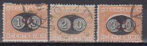 Italy #J25-7 Fine Used CV $79.00 (B7841)