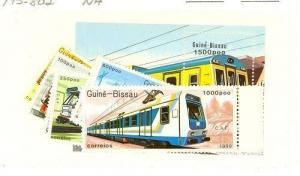 Guinea-Bissau Scott 795-802 NH    [ID#423115]