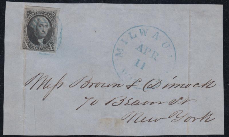 U.S. 2 Used Pos. 57L1 Harelip SCV$3,600 (11919)