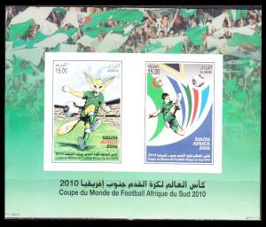 2010	Algeria	1631-32/B6	2010 World championship on football South Africa