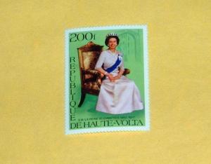 Upper Volta - 436, MNH - Elizabeth II. CV - $2.25