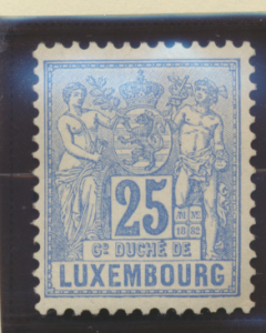 Luxembourg Stamp Scott #55, Mint Never Hinged - Free U.S. Shipping, Free Worl...