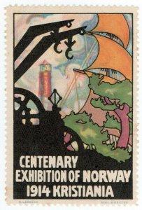 (I.B) Norway Cinderella : Centenary Exhibition (Kristiana 1914)