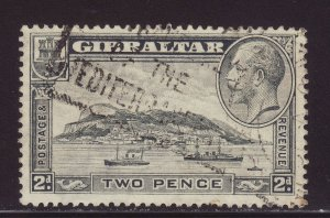 1931 Gibraltar 2d Perf 13½ x 14 Fine Used SG112a