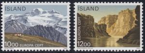 Iceland 622-623 MNH (1986)