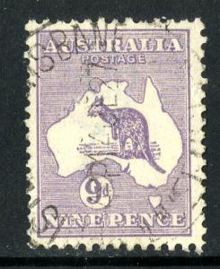 AUSTRALIA #9 USED SCV $37.50 BIN $12.50