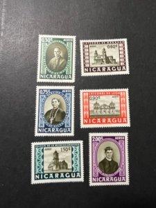 Nicaragua sc C392-C397 MNH