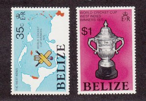 Belize Scott #381-382 MNH