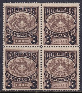 Chile - Scott #64 - Block/4 - MH - SCV $1.80
