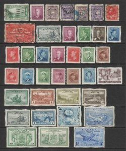 Canada Mint & Used Stamp oddments