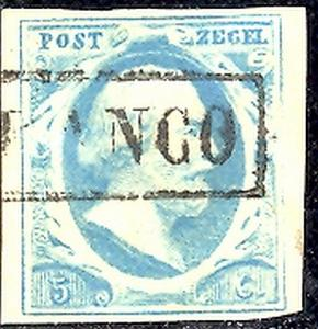 Netherlands #1  Used F-VF
