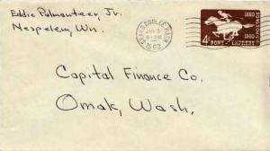 United States, Postal Stationery, Washington