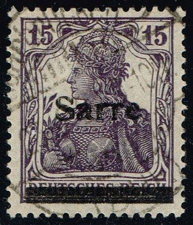 Saar #7 Germania; Used (1.00)