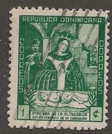 DOMINICAN REPUBLIC SC #  384    USED