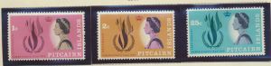 Pitcairn Islands Stamps Scott #88 To 90, Mint Lightly Hinged - Free U.S. Ship...