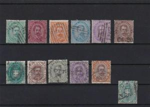 ITALY 1877 USED STAMPS SET   REF 5949