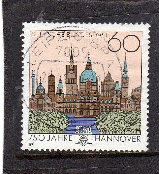 Germany 1991  Anniv of Hannover used