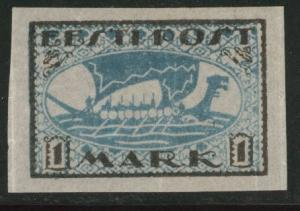 Estonia Scott 34 MH* from 1919-1920 set Viking Ship