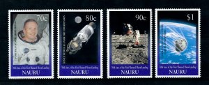[102261] Nauru 1999 Space travel weltraum Apollo 11  MNH