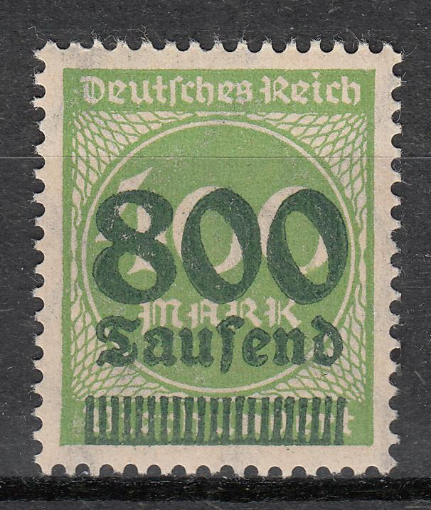 Germany - 1923 Inflation 800Tsd on 400M Mi#306A- MNH(5390)