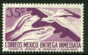 MEXICO E16, 35cents 1950 Definitive 2nd Printing wmk 300. MINT, NH. F-VF.