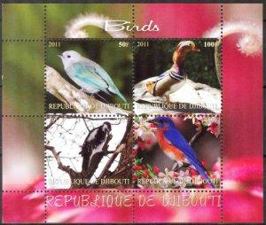 Djibouti 2011 Birds (1) MNH Cinderella !