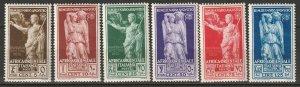 Italian East Africa 1938 Sc 21-6 set MNH**