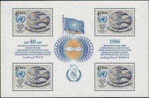 Czechoslovakia - Scott 2551 Mini Sheet VF MNH